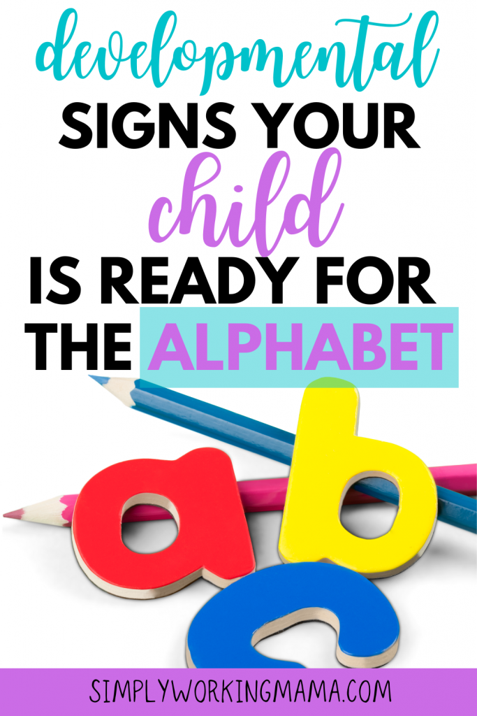 ABCs and pencils; ready to learn the alphabet