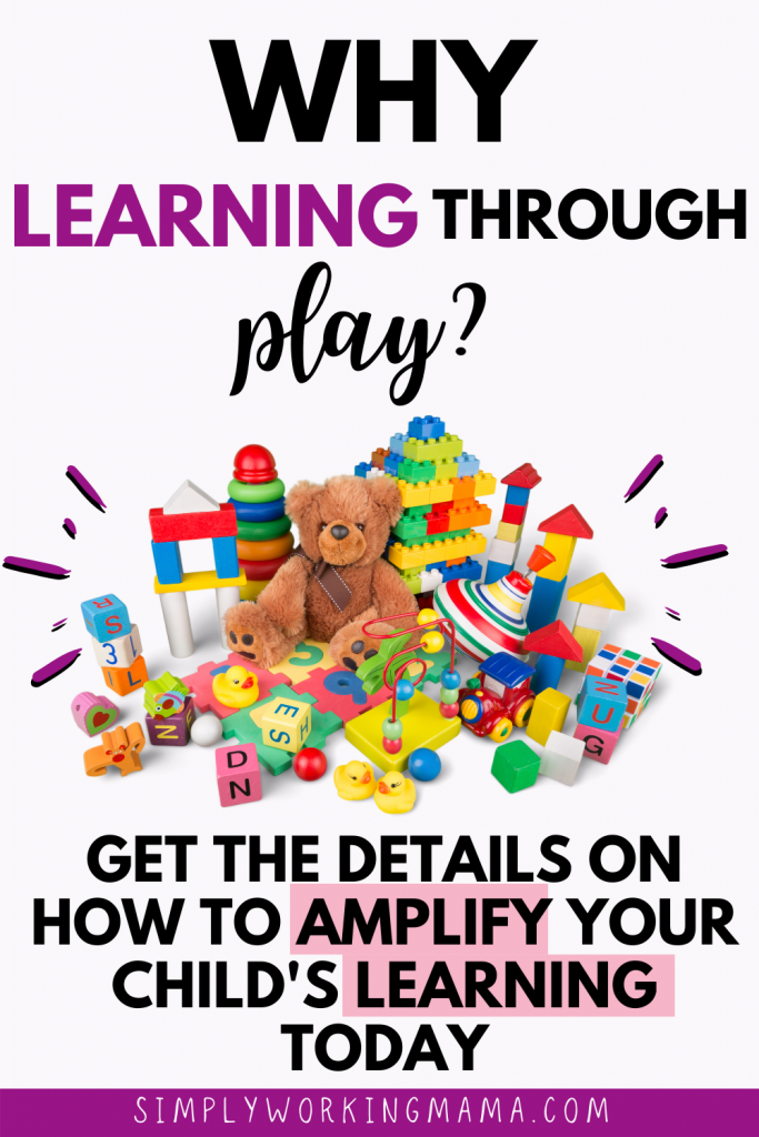 diverse group of toys to support learning through play