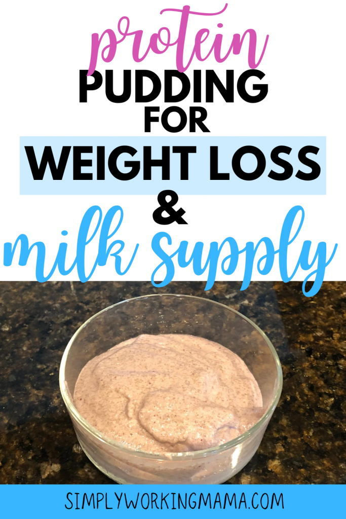 lactation pudding that boosts milk supply